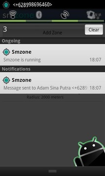 Auto Sms By Zone (LITE)