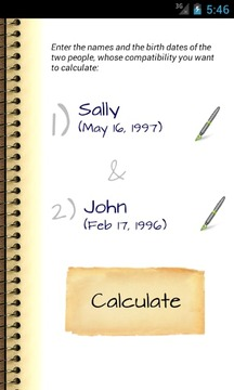 情侣亲密计算器(Love Compatibility Calculator)