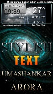 Stylish Text lite