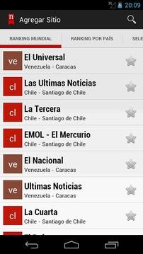 报纸在智利