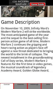 Modern Warfare 2 Game