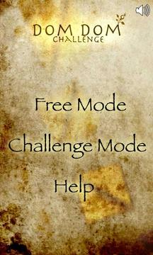 Dom Dom Challenge (Free)