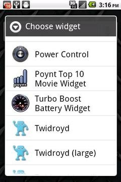 Turbo Boost Battery Widget
