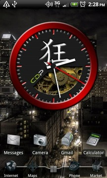 Red Crazy Clock Pack