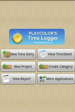 Playcolors Time Logger