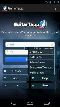 GuitarTapp - Tabs & Chords