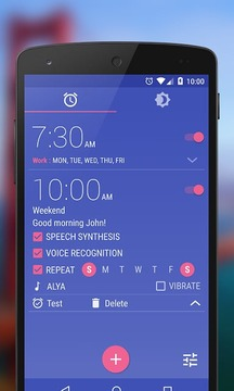 WakeVoice TRIAL ★ alarm clock