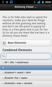 Alchemy Cheat Sheet 2