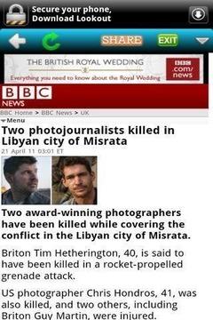 BBC手机新闻BBC Mobile Ne