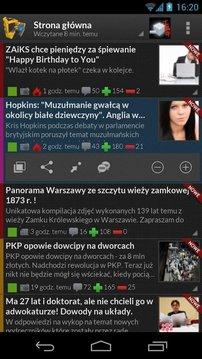 Wykoparka - klient Wykop.pl