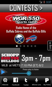 WGR – Sports Radio 550