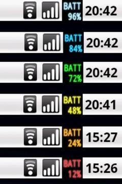电池仪表 喜欢的位置电池 量规的表示能