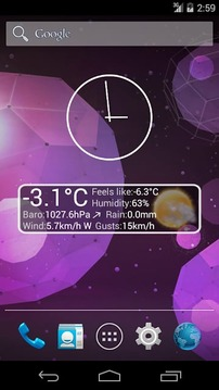 Weather Personal Widget