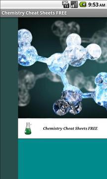 化学备忘单免费