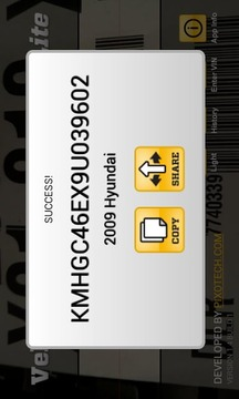 VehicleBarcodeScanner Lite