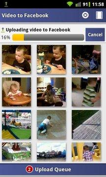 Video Uploader to Facebook