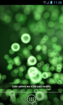 Neon Microcosm Free LWP