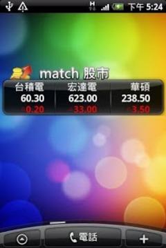 台湾大哥大 match股市