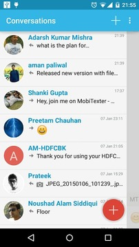 MobiTexter : easy SMS from PC
