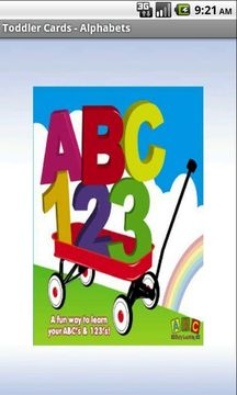 Toddler Flashcards:Alphabets