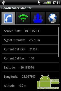 地理网络监视器
