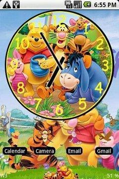 小熊维尼时钟