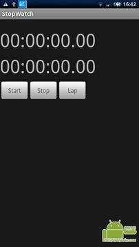简单的秒表!