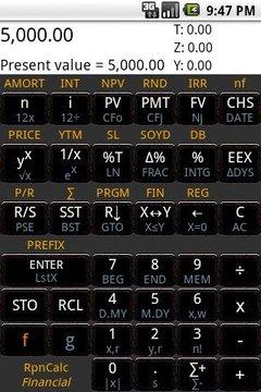 科学计算器 RpnCalc Financial