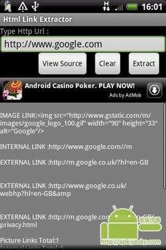 提取HTML链接