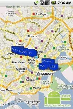 新加坡停车场的MS雨云