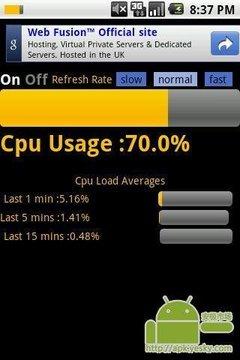 CPU的使用状态