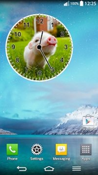 动物时钟小工具