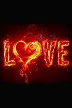 燃烧爱的背景