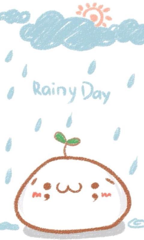 颜文字君的天气-绿豆动态壁纸