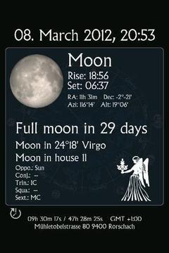 天体占星一体化时钟 AstroClock (+Widget)