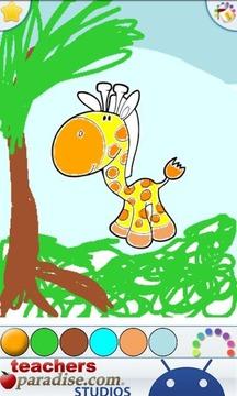 丛林动物彩图