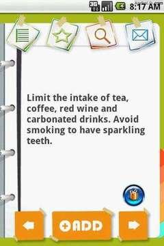 牙齿保护贴士