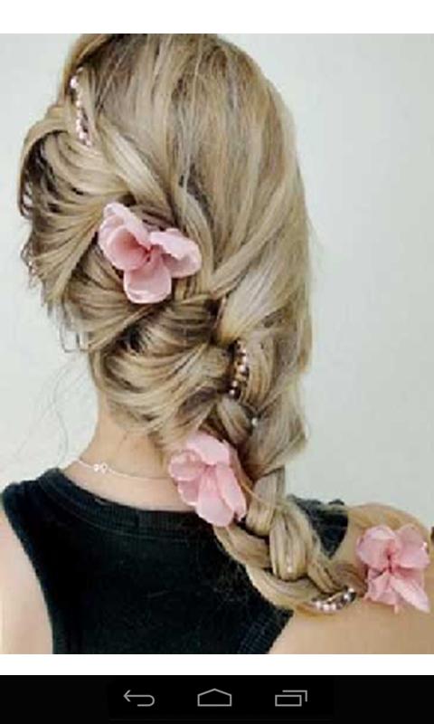 儿童头发的编织分享展示图片
