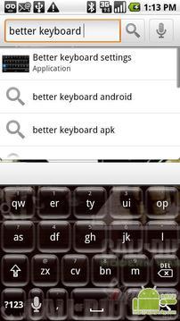 更好的键盘 - 玻璃球