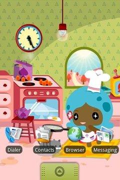 可爱娃娃动态桌布
