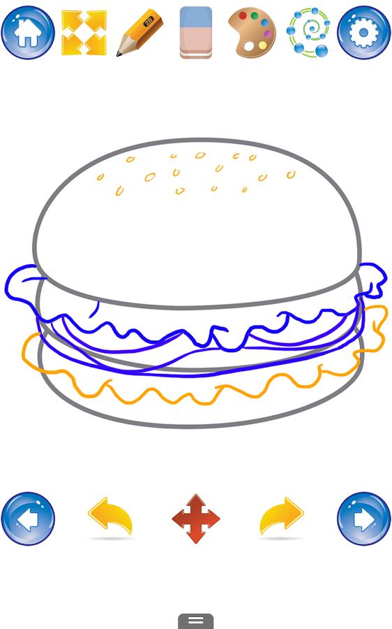如何绘制可爱的食物