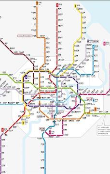 上海地铁路线图