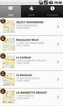Service en tête, Guide 2012