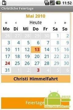 基督教假期