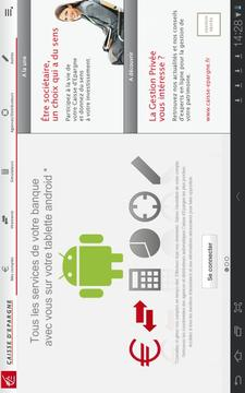 Banque pour tablettes Android