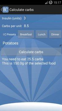 Diabetes Insulin Calculator