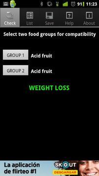 Dissociated Diet Free