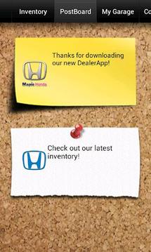 Maple Honda DealerApp