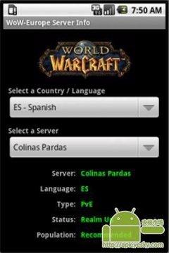 魔兽世界欧洲服务器信息