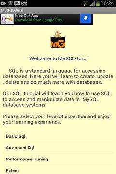 MySQLGuru sql tutorial